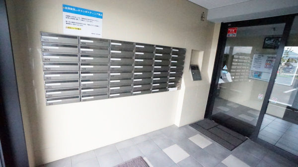 集合郵便ポスト