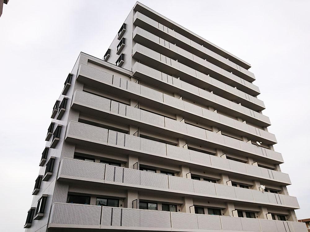 ナッツコート1004号室 最上階角部屋 新品エアコン付き 9月中旬入居可